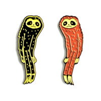 The Slender Sloth Pin