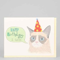 Turtle's Soup Grumpy Cat Birthday Card- Assorted One