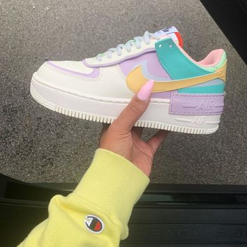 "Nike WMNS Air Force 1 Shadow""Tropical Twist""Low Band Slippers"