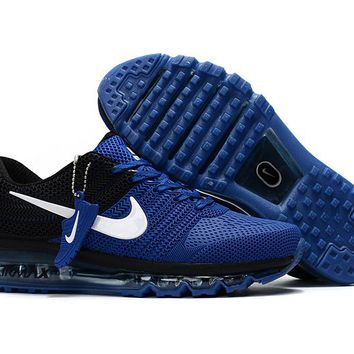 New Nike Air Max Treasure blue black Train Running Shoes -2017 Release
