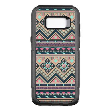 Colorful Abstract Aztec Tribal Pattern Geometric OtterBox Commuter Samsung Galaxy S8+ Case