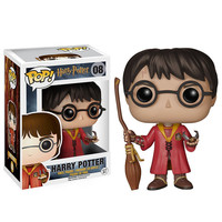 Hollywood Movies Figurinhas Harry Potter Funko Pop Nendoroid 10cm PVC Action Figure funko Figurines Kids Vinyl Doll Toys