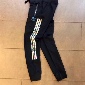 Adidas Original Woman Black Sports Casual Trousers Pants
