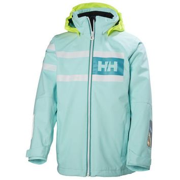 Helly Hansen Kids Salt Power Jacket in Shell or Charcoal