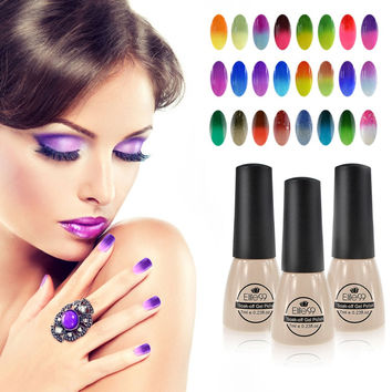 Elite99 UV Nails Polish Gel 7ml Temperature Color Changing Gel Polish Professional Soak Off  Thermal Gel Lak Gelpolish