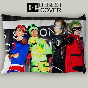 5Sos The Heroes Pillow Case In 20 x 30 Inches