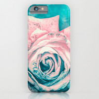 iPhone 6 - iPhone6 Plus - Case - Slim and Tough options available - Queen Rose  - Tech Accessory - Floral Design Case