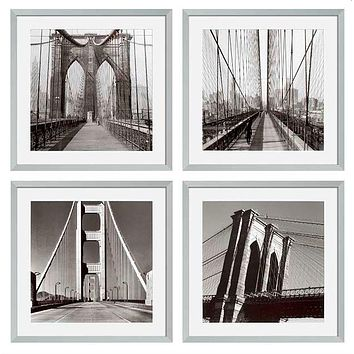 Eichholtz American Bridges Print (set of 4)