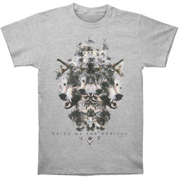 Bring Me The Horizon Men's  Wolven T-shirt Grey Rockabilia