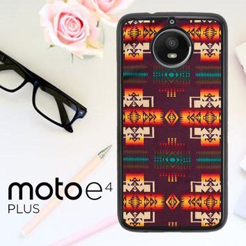 Pendleton Maroon Chief X5090 Motorola Moto E4 Plus Case