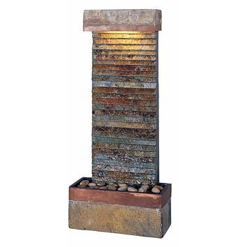 Anapos Floor/ Wall Horizontal Fountain | Overstock.com Shopping - The Best Deals on Indoor Fountains