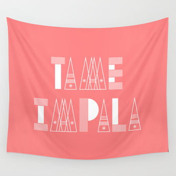 TAME IMPALA CORAL PRINT Wall Tapestry by Brian Biles