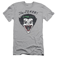 BATMAN/RETRO JOKER-S/S ADULT 30/1-SILVER