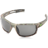 Under Armour UA Captain Satin Realtree Camo Frame Gray ANSI Z87.1 Lens Men's Sunglasses