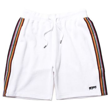 Peaceful Warrior Shorts White