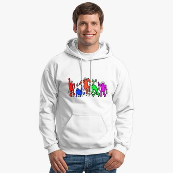 Keith Haring - Dance Hoodie | Customon.com