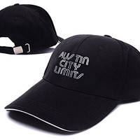 XINMEN Austin City Limits Music Festival Logo Adjustable Baseball Caps Unisex Snapback Embroidery Hats