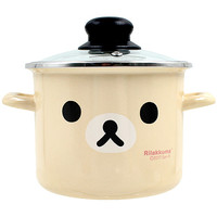 Buy San-X Korilakkuma Face Enamel Cooking Pot with Lid at ARTBOX