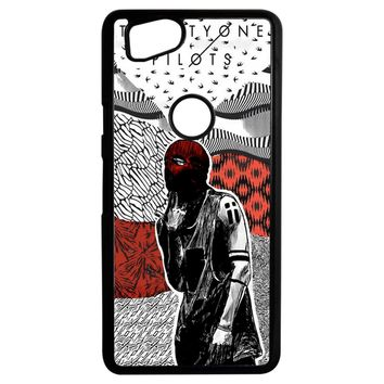 Twenty One Pilots Artwork Poster Google Pixel 2 Case
