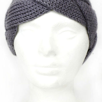 Women's Braided Sweater Headband