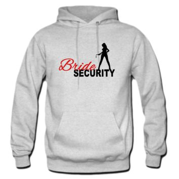 Bride Security Hoodie