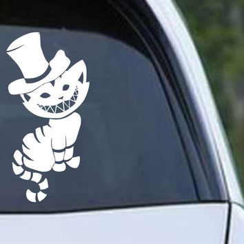 Alice In Wonderland - Cheshire Cat (02) Die Cut Vinyl Decal Sticker