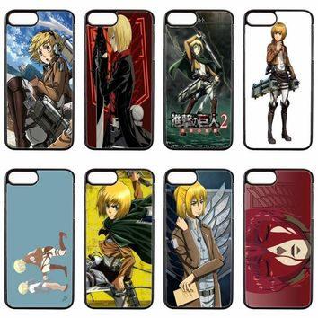 Cool Attack on Titan  Armin cover case For LG G2 G3 G4 Stylus G5 G6 Nexus 4 5 5x google 6 K10 2017 V20 phone case AT_90_11