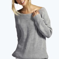 Millie Multi Strap Plunge V Back Jumper