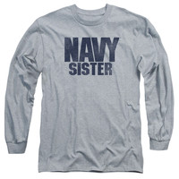 U.S. Navy Sister Athletic Heather Long-Sleeve T-Shirt
