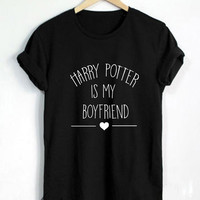 Harry Potter Shirt Harry Potter Is My Boyfriend Tshirt Unisex Size - RT125