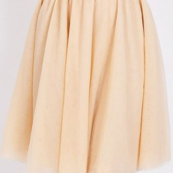 Mayfair Tulle Skirt In Pink