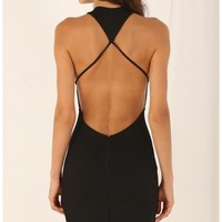 Party dresses > Strappy Bodycon Plunge Dress
