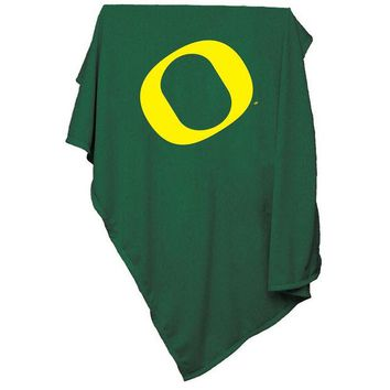 ONETOW Oregon Ducks NCAA Sweatshirt Blanket Throw