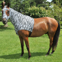 Gatsby Printed Lycra Pull On Slicker Hood - Zebra