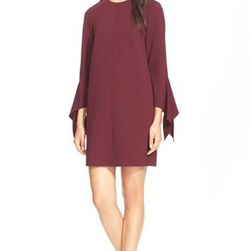 Women's Tibi Tie Sleeve Dress,