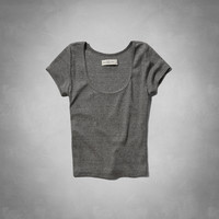 Gillian Cropped Tee