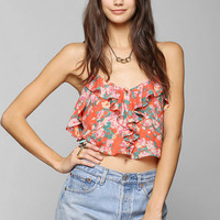 Kimchi Blue Flamenco Cropped Cami - Urban Outfitters
