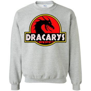 Dracary's Mother of Dragons Park Jurassic Parody Sweatshirt