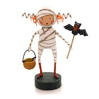 Lori Mitchell Minnie Mummy Halloween Figurine