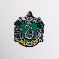 Harry Potter Hogwarts House Slytherin patch - iron-on 3 inch patch