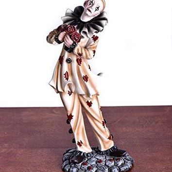 Clown Figurines with Roses