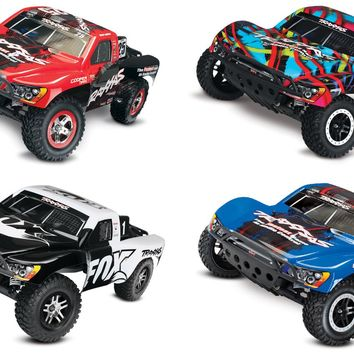 58076-4 Slash VXL:  1/10 Scale 2WD Short Course Racing Truck with TQi