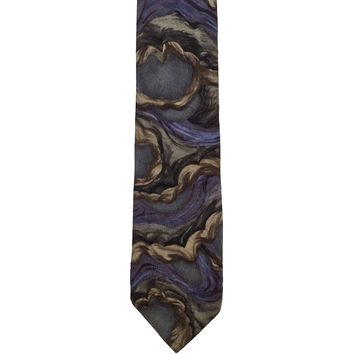 J. Garcia Collectors Edition Novelty Wide Silk Tie - Multicolor