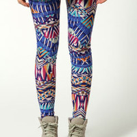 Alicia Geo Aztec Leggings