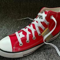converse chuck taylor all star unisex sport casual high help shoes canvas shoes couple classic cloth shoes-2