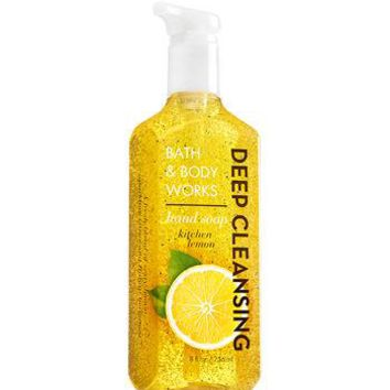 Bath & Body Works KITCHEN LEMON Deep Cleansing Hand Soap 8.75 oz