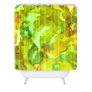 Rosie Brown The Pond Shower Curtain