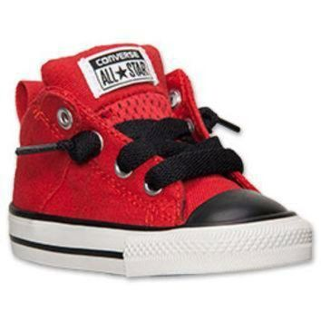 DCCK8NT boys toddler converse chuck taylor axel mid casual shoes