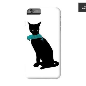 Black Cat Phone Case I Got Another Whale Mobile Cover Cat Phone Cover | Black Cat Cell Phone Case iPhone 8 Samsung Galaxy Note 5 S6 Edge Plus S7 S7 Edge S8 S8 Plus iPhone X Models