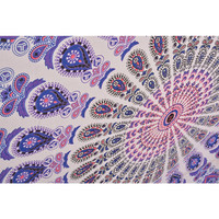 Mynelo Twin Hippie Tapestry Wall Hanging Indian Mandala Tapestries Bedspread Wall Decor